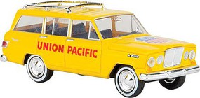 Berkina 1967 Jeep Wagoneer - Assembled Union Pacific (Armour Yellow, red)