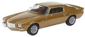 Berkina 1972 Chevrolet Camaro Z28 Assembled Gold Model Railroad Vehicle HO Scale #19906