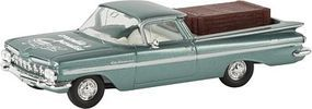 Berkina 1959 Chevrolet El Camino w/Crate Load Assembled Model Railroad Vehicle HO Scale #19942