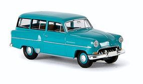 Berkina Opel Olympia Rekord CarAVan Station Wagon Assembled Model Railroad Vehicle HO-Scale #20232