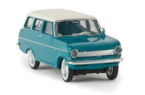 Berkina Opel Kadett A Caravan Station Wagon Assembled Model Railroad Vehicle HO-Scale #20359