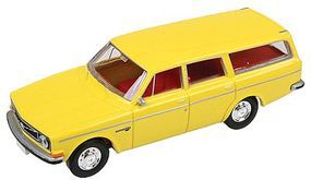 Berkina Volvo 145 Station Wagon Assembled - Zinc Yellow Model Railroad Vehicle HO Scale #29456