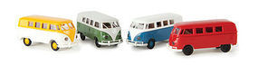 Berkina VW T1b Assorted Colors HO Scale Model Railroad Vehicle #31553