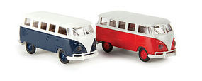 Berkina VW T1b Van Assorted Colors HO Scale Model Railroad Vehicle #31834
