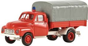 Berkina 1953-1960 Opel Blitz Delivery Truck Assembled Fire Model Railroad Vehicle HO Scale #35314