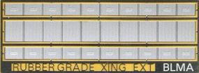 BLMS Grade Crossing Rubber Style Expander N Scale Model Railroad Road Accessory #78