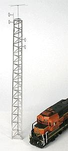 BLMA Radio Antenna Tower 70 Scale Feet -- Z Scale Model Railroad Building Accessory -- #8100
