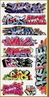 Blair-Line Laser Cut Graffiti Decals - MegaSet #8 N Scale Model Railroad Decal #1257