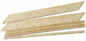 Blair-Line Wood Grade Crossing pkg(2) - Right Angled HO Scale Model Railroad Trackside Accessory #134
