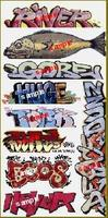 Blair-Line Graffiti Decals Mega Set - #7 (9) HO Scale Model Railroad Decal #2256