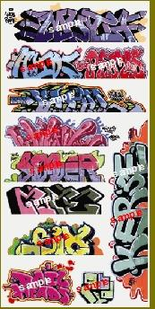 Blair Line Graffiti Decals Mega Set - #8 (11) -- HO Scale Model Railroad Decal -- #2257