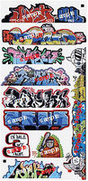 Blair-Line Graffiti Decals Mega #14 HO Scale Model Railroad Decal #2263