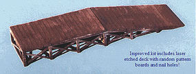 Blair-Line Wood Loading Ramp O Scale Model Railroad Building Accessory #274