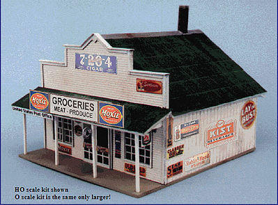 Blair Line Blairstown General Store -- O Scale Model Railroad Building -- #280