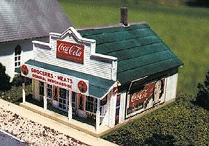 Blair Line Blairstown General Store Kit -- N Scale Model Railroad Building -- #80