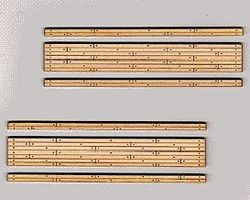 Blair-Line-Signs 2-Lane Wood Grade Crossing (2) HO Scale Model Railroad Trackside Accessory #165