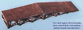 Blair-Line-Signs Loading Ramp Kit N Scale Model Railroad Building Accessory #74