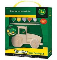 Balitono John Deere Tractor Kit Wooden Construction Kit #21009