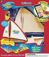 Balitono Sailboat Wooden Construction Kit #21420
