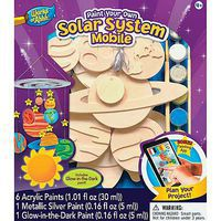 Balitono Solar System Mobile Wooden Construction Kit #21459