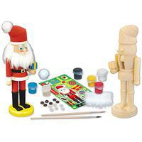 Balitono Nutcracker Santa Wooden Construction Kit #21516