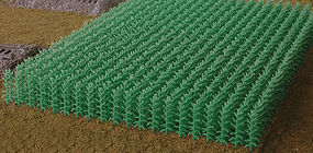 Bluford Large Summer Cornfield HO Scale Model Railroad Grass Earth #203