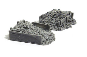Bar-Mills Coal Bin resin 2/ - N-Scale