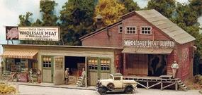 Bar-Mills Four Fingered Tonys - Kit - HO Scale Model Railroad Building #112