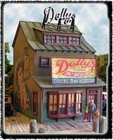 Bar-Mills Dollys Confections Shop Kit HO Scale Model Railroad Building #1240
