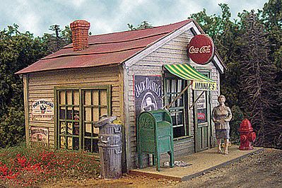 Bar Mills Hinkle's Package Store - Kit -- O Scale Model Railroad Building -- #194