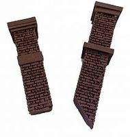 Bar-Mills Tall Aged Chimmneys 2 pack O Scale Model Railroad Building Accessory #4033