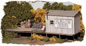 Bar-Mills Furlow Freight & Transfer - Kit HO Scale Model Railroad Building #712