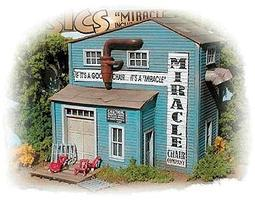 Bar-Mills Miracle Chair Company - Kit HO Scale Model Railroad Building #732