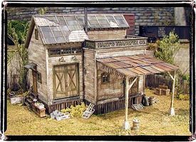 Bar-Mills Old Man Harts O Scale Model Railroad Building #844