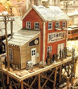 Bar Mills Waterfront Willy's/Trackside Jack's - Kit -- HO Scale Model Railroad Building -- #922