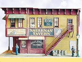 Bar-Mills Saulenas Tavern - Kit HO Scale Model Railroad Building #932