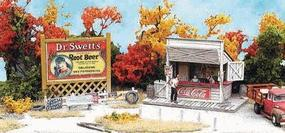 Bar-Mills Swansons Lunch Counter - Kit - 1-1/2 x 1 N Scale Model Railroad Building #951