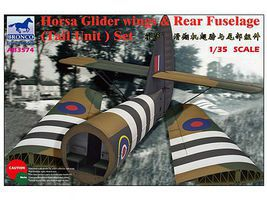 Bronco Horsa Glider Wings and Rear Fuse Plastic Model Aircraft Accessory 1/35 Scale #3574