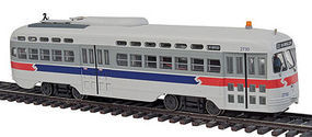 Bowser PCC Streetcar Septa II #2730 HO Scale Model Train Passenger Car #12692