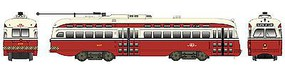 Bowser PCC Street Car Toronto Transportation Commission HO Scale Trolley and Hand Cars #12696