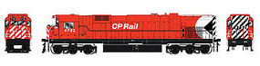 Bowser M636 with Sound Canadian Pacific #4738 HO Scale Model Train Diesel Locomotive #24292