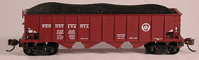 Bowser H21 Hopper Pennsylvania Circle Keystone N Scale Model Train Freight Car #37678