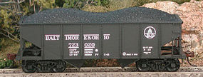 Bowser GLa 2-Bay Hopper Pennsylvania 154226 N Scale Model Train Freight Car #37717