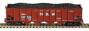 Bowser H21a Hopper Norfolk & Western #135521 N Scale Model Train Freight Car #37778