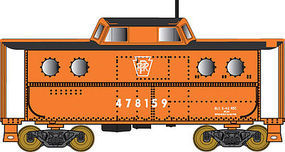 Bowser PRR Class N5C Steel Cabin Car Pennsylvania RR #477874 N Scale Model Train Freight Car #37793