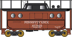 Bowser PRR Class N5C Steel Cabin Car Pennsylvania Railroad N Scale Model Train Freight Car #37797