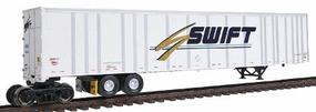 Bowser 53 Plate Wall Roadrailer(R) Ready to Run Swift #1469 HO Scale Model Train Freight Car #40290