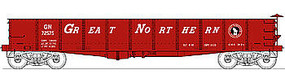 Bowser GS Gondola Great Northern #72575 (red, white) HO Scale Model Train Freight Car #40318