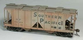 Bowser 70 Ton Hopper Southern Pacific 402447 Weathered HO Scale Model Train Freight Car #40487