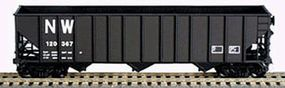 Bowser 100-Ton Norfolk & Western #120406 HO Scale Model Train Freight Car #40680